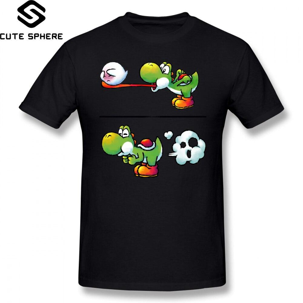 Camiseta de Super Smash Bros, camiseta con Farting Yoshi, camiseta a la moda 100 de algodón para hombre, Camiseta con estampado de manga corta bonita 3xl