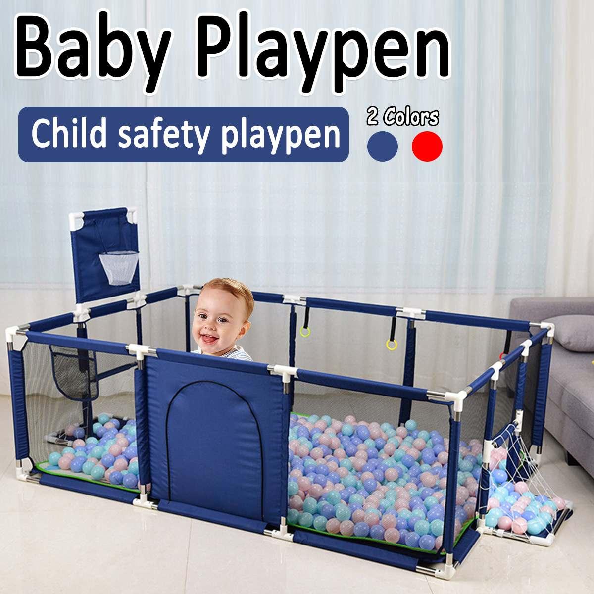 تجمع كرات البلياردو للأطفال حديثي الولادة ، وسياج لعب للأطفال ، وحاجز أمان للأطفال
