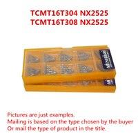 MITSUBISHI TCMT16T304 NX2525 TCMT32.51/TCMT16T308 NX2525 TCMT32.52 CNC Turning Milling Cermet inserts New original Free shipping