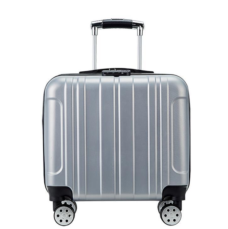 2021 Stylish small suitcase on wheels ladies Fashion 14 inch mini cabin suitcase