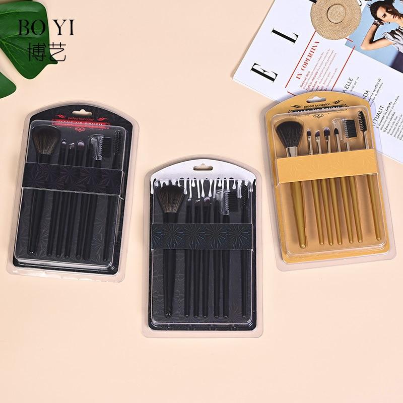 Maquillaje belleza cepillo para traje 7 Uds juego de brochas de maquillaje...