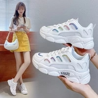 women casual shoes fashion breathable mesh sneakers gym vulcanized shoes trendy platform running shoes fitness shoes
