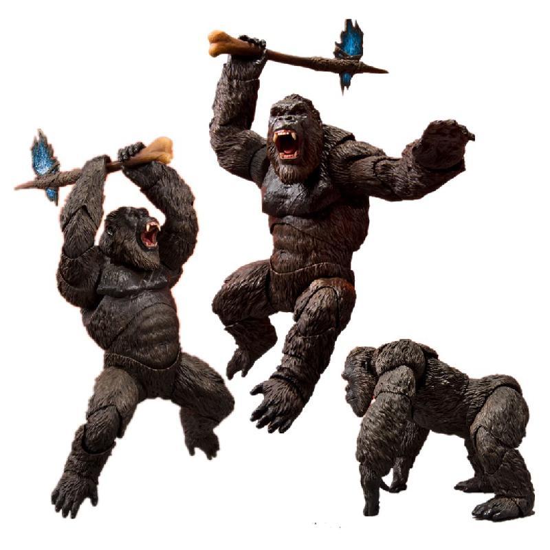 Фигурки героев фильма «King Kong», фигурки героев из фильма «Монстр», коллекционная фигурка Kingkong, модель, подарок, 2021