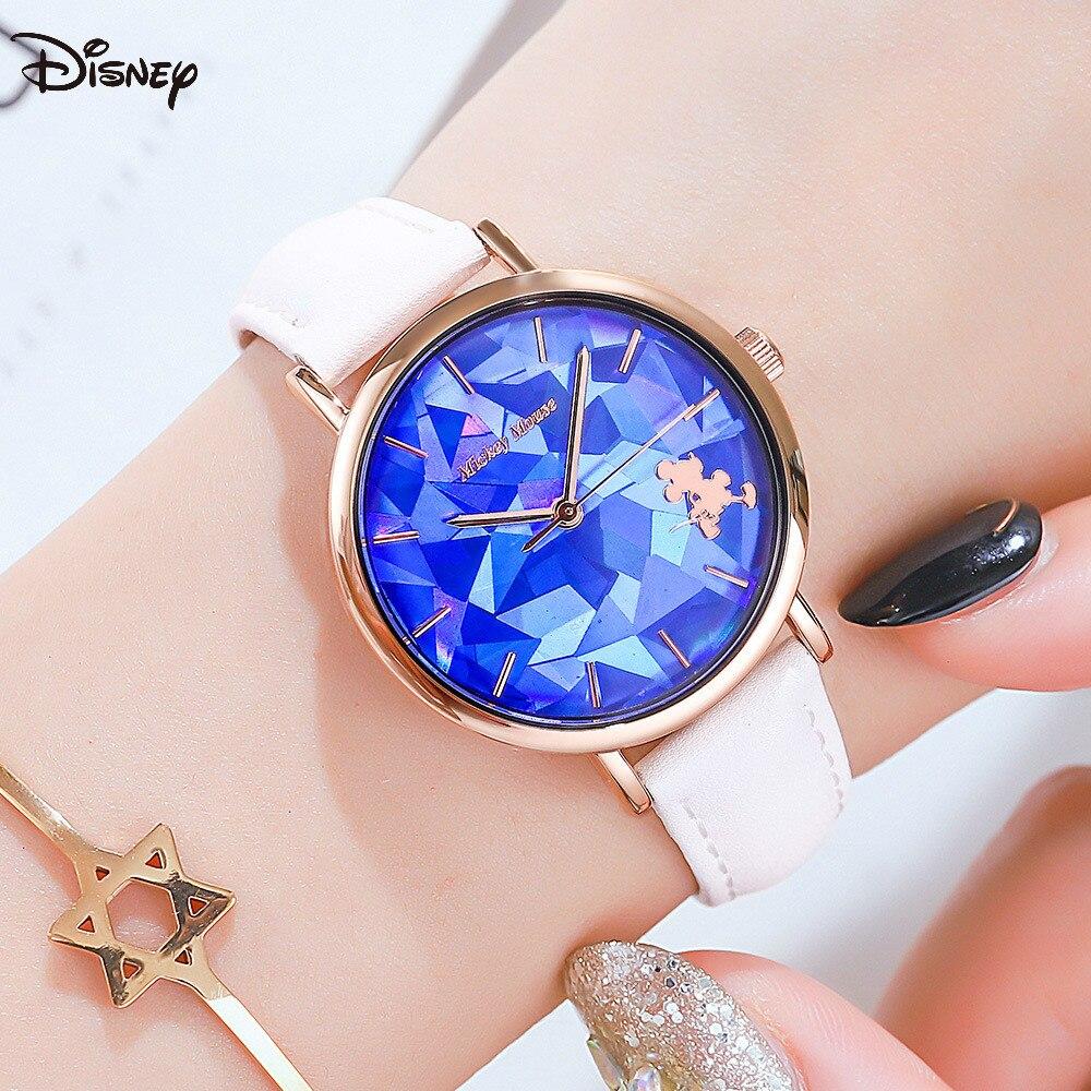Relógio de Correia Relógio de Moda Disney Senhoras Simples Tendência Design Geométrico Cinto Relógio