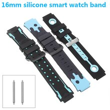 Universal Kids Smart Sport Watch Band Silicone Strap Adjustable Wristwatch Replacement Strap Waterpr