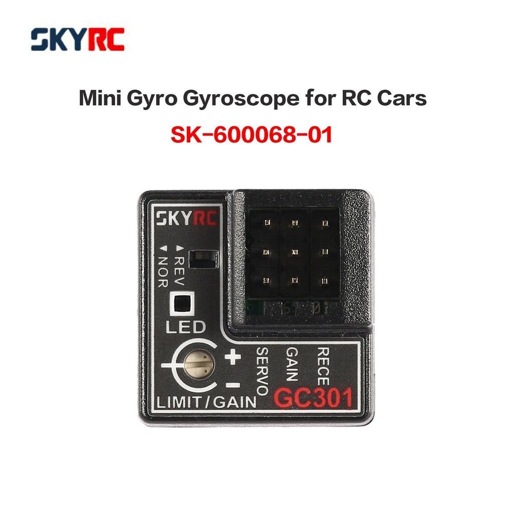 SKYRC GC301 Mini giroscopio para RC coche Drift Racing coche Salida de dirección integrado compacto diseño ligero RC partes y Accs