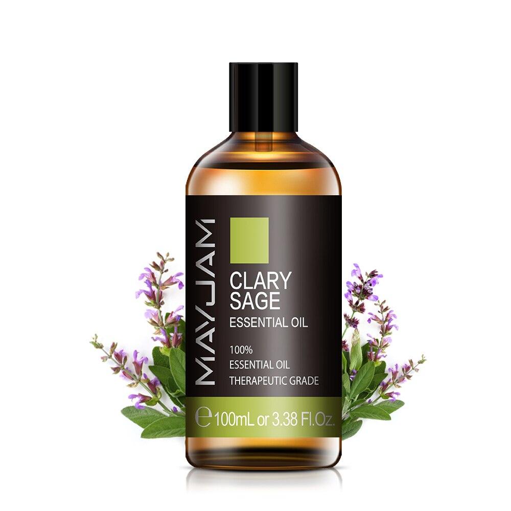 aliexpress.com - 100ML Sage Essential Oil Diffuser Aroma Oil Help Sleep Lavender Vetiver Chamomile Sandalwood Vanilla Pure Natural Essential Oils