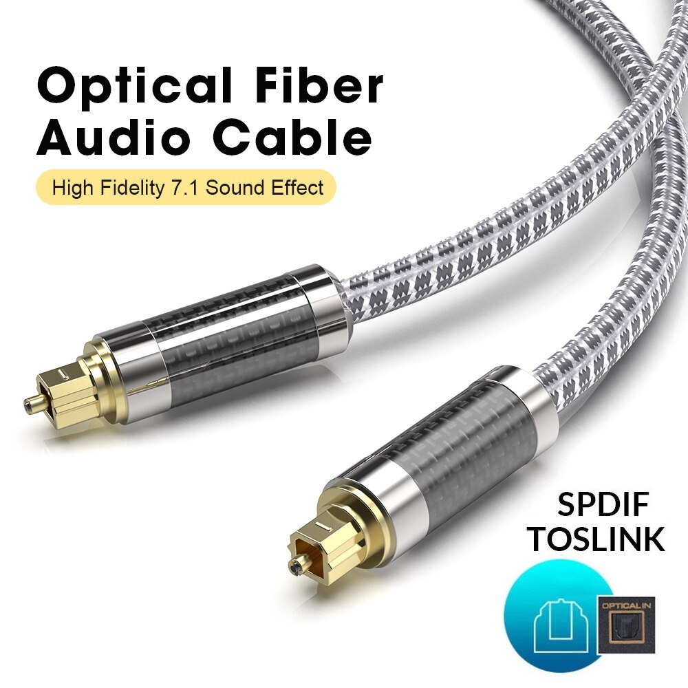 Digital de Audio y vídeo Cables de fibra óptica Optico cobre libre...