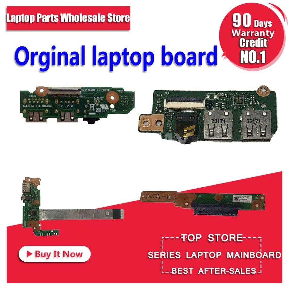 Для S551L V551 K551L S551LN S46C K46 K46CM K46C K56C S550C S56C K56CM K55 K55V K55VD K55VJ K55VM USB аудио IO Кнопка питания