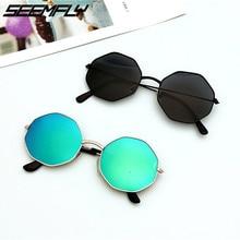 Seemfly Fashion Irregular Sunglasses Men Women Vintage Candy Color Eyewear Gradient Sun Glasses Fema