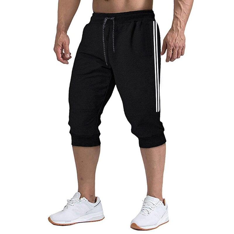 2021 спортивные штаны мужские повседневные штаны для бега 3/4 штаны футбольные штаны фитнес штаны мужские шорты XXXL