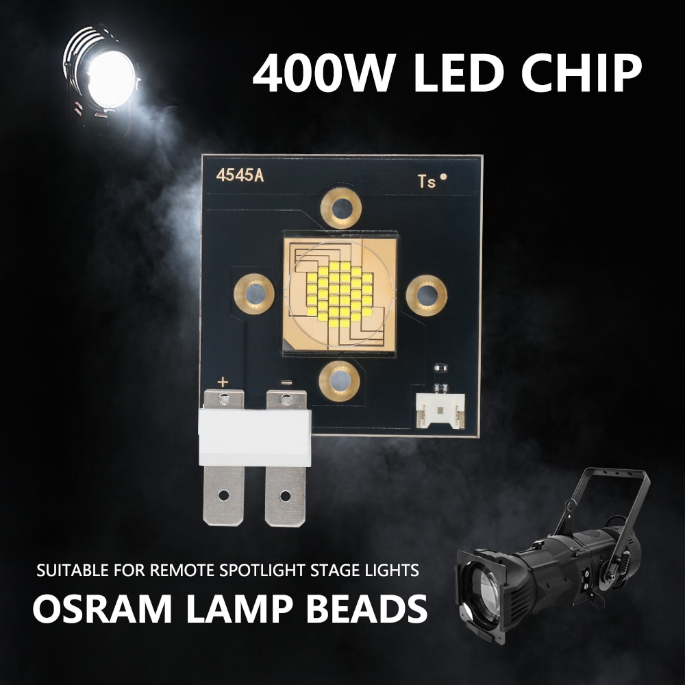 400W LED Chip Lamp Beads DC30-36V 12A 60000LM Cool White 8000-8500K For Long Distance Stage Lights Film And Television Light DIY enlarge