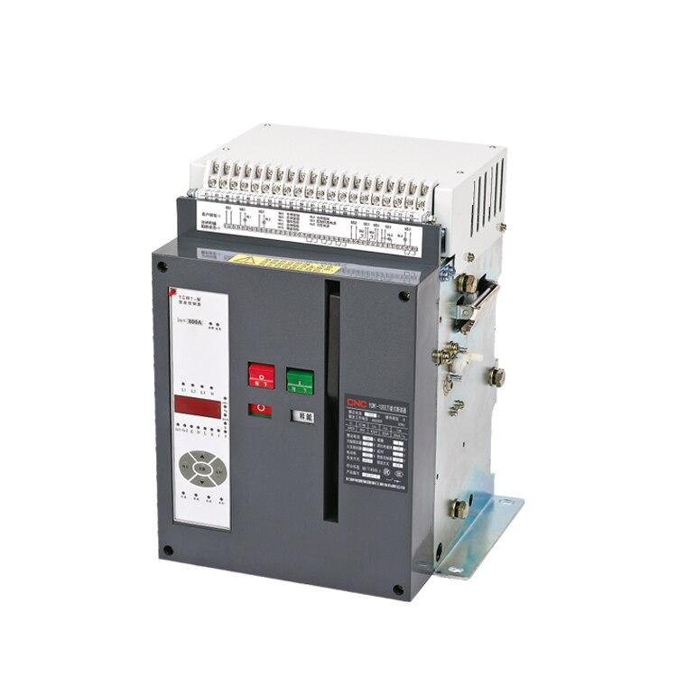 Alta qualidade ycw1 3p 4p acb 630a 2500a 5000a 6300a draw-out/tipo fixo acb 3 pólos interruptor de ar