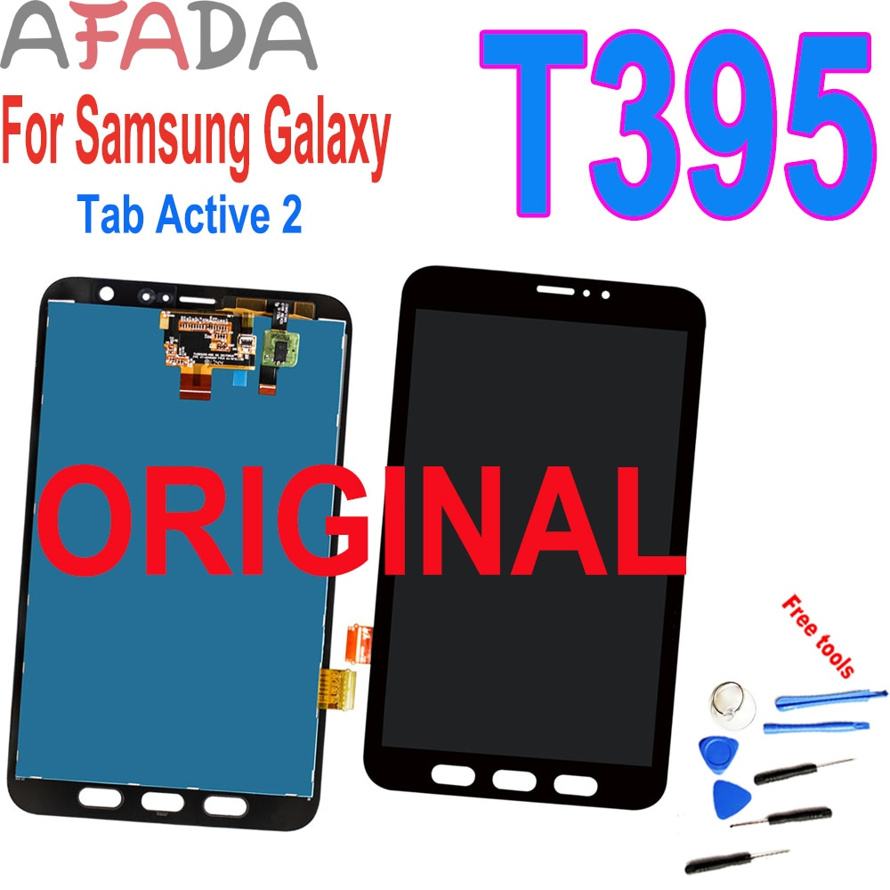 AliExpress - Original 8″ For Samsung Galaxy Tab Active 2 T395 SM-T395 LCD Display Touch Screen Digitizer Panel Assembly Replacement Parts