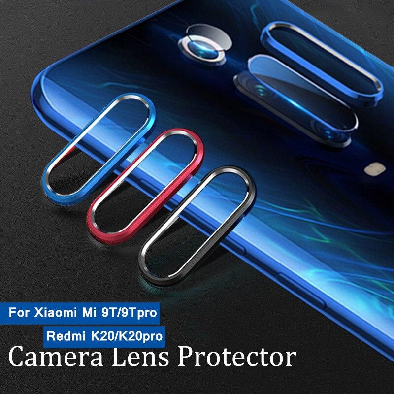 Para Xiaomi Redmi K20 Pro Mi 9T lente de la Cámara Protector de vidrio templado Xiami 9T película de la Lente de la Cámara Xiomi funda de anillo de Metal parachoques Mi9T