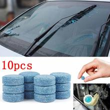 Essuie-glace Fine solide de voiture   Nettoyeur de vitres de pare-brise de voiture, nettoyage de vitres automobiles, accessoires de voiture TSLM1 10 pièces/paquet