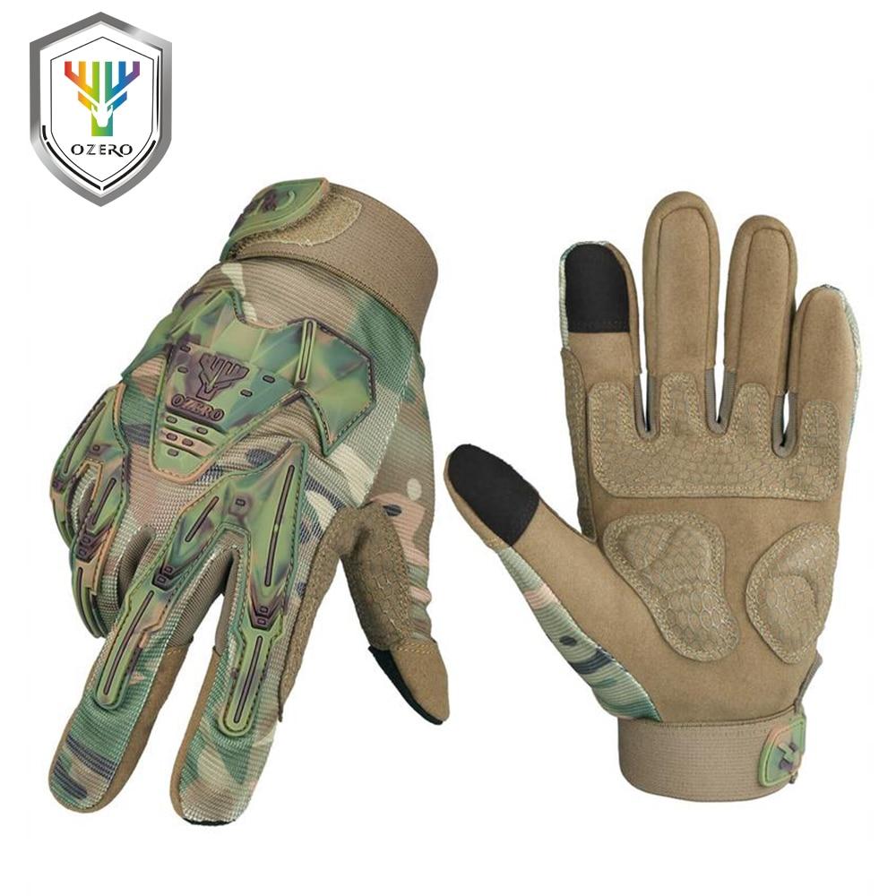OZERO-guantes de carreras para motocicleta, accesorios para bicicleta, impermeables, antideslizantes