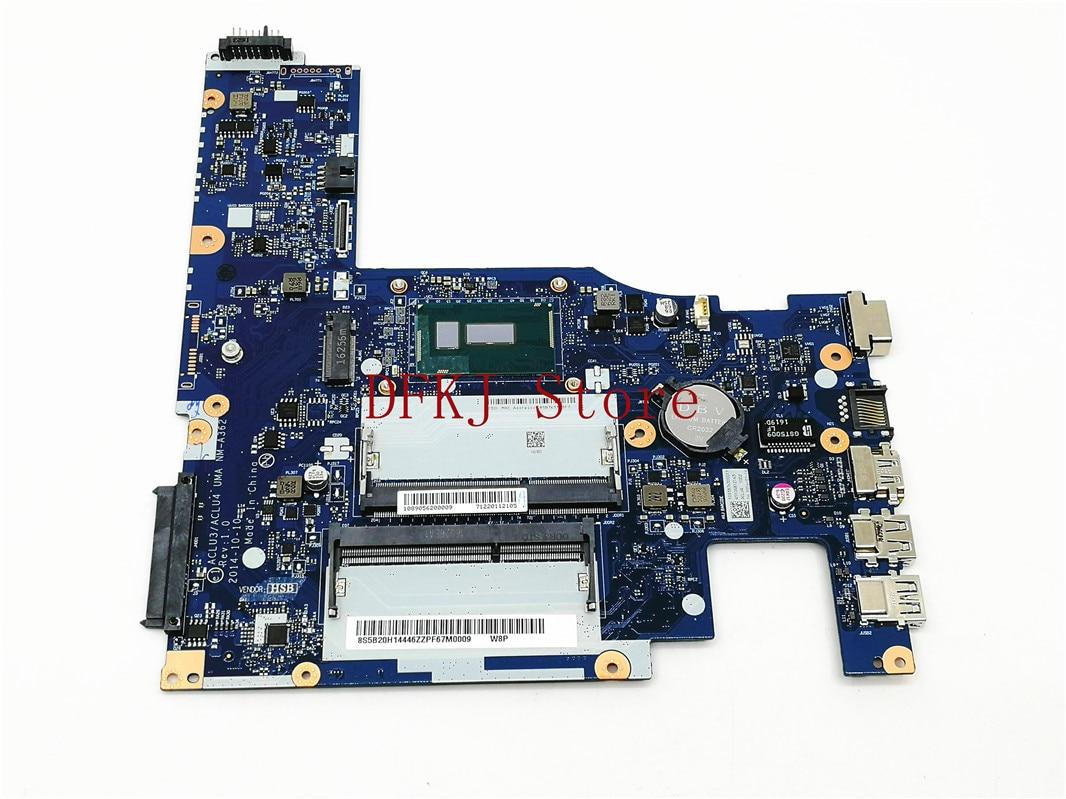 سريع الشحن ACLU3/ ACLU4 UMA NM-A362 اللوحة الأم لأجهزة الكمبيوتر المحمول لينوفو G50-80 مع 3805U اللوحة الرئيسية 5B20H14446 اختبار OK