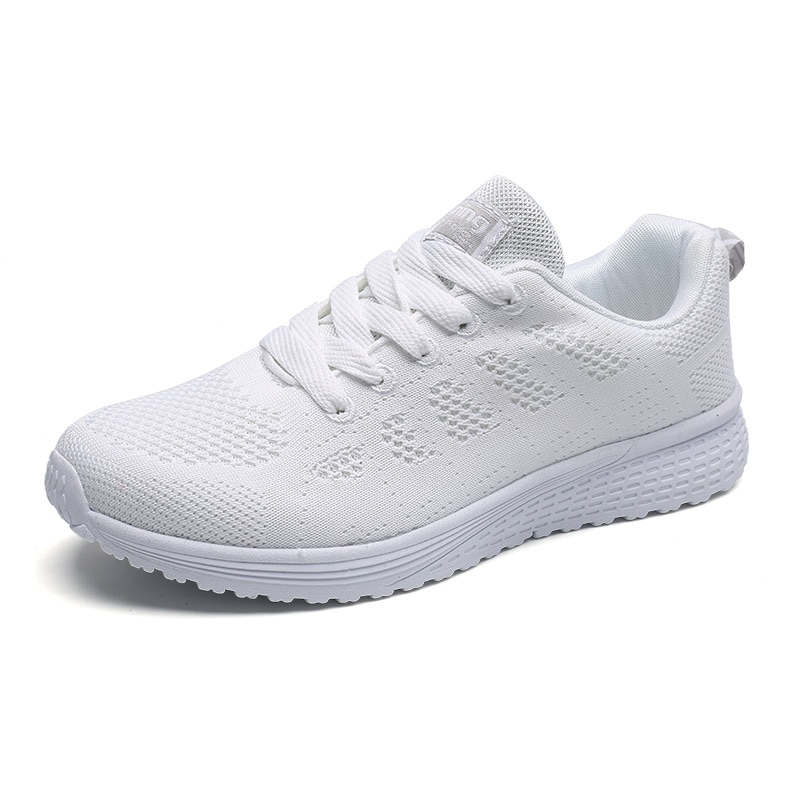 Autumn and winter new men's and women's shoes couple shoes student mesh breathable casual shoes net