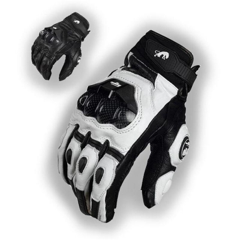 Men's Leather Furygan AFS 6 Motorcycle Gloves Moto Racing Gloves Bicycle Cycling Motorbike Riding Glove guantes moto Luvas
