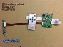 30PIN LCD carte pilote PCB-800807V1 1HDMI EDP pour résolution décran 1920*1200 1920*1080 1600*900 1366*768 1280*800*30 broches edp