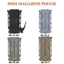 Nouveau 9mm militaire tir Mag poche en plein air chasse CS pistolet fusil pochette de magazines tactique Molle taille ceinture magazines poches