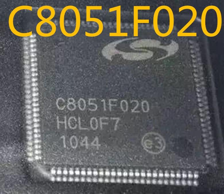 100% novo & original C8051F020-GQR C8051F020 C8051F TQFP100