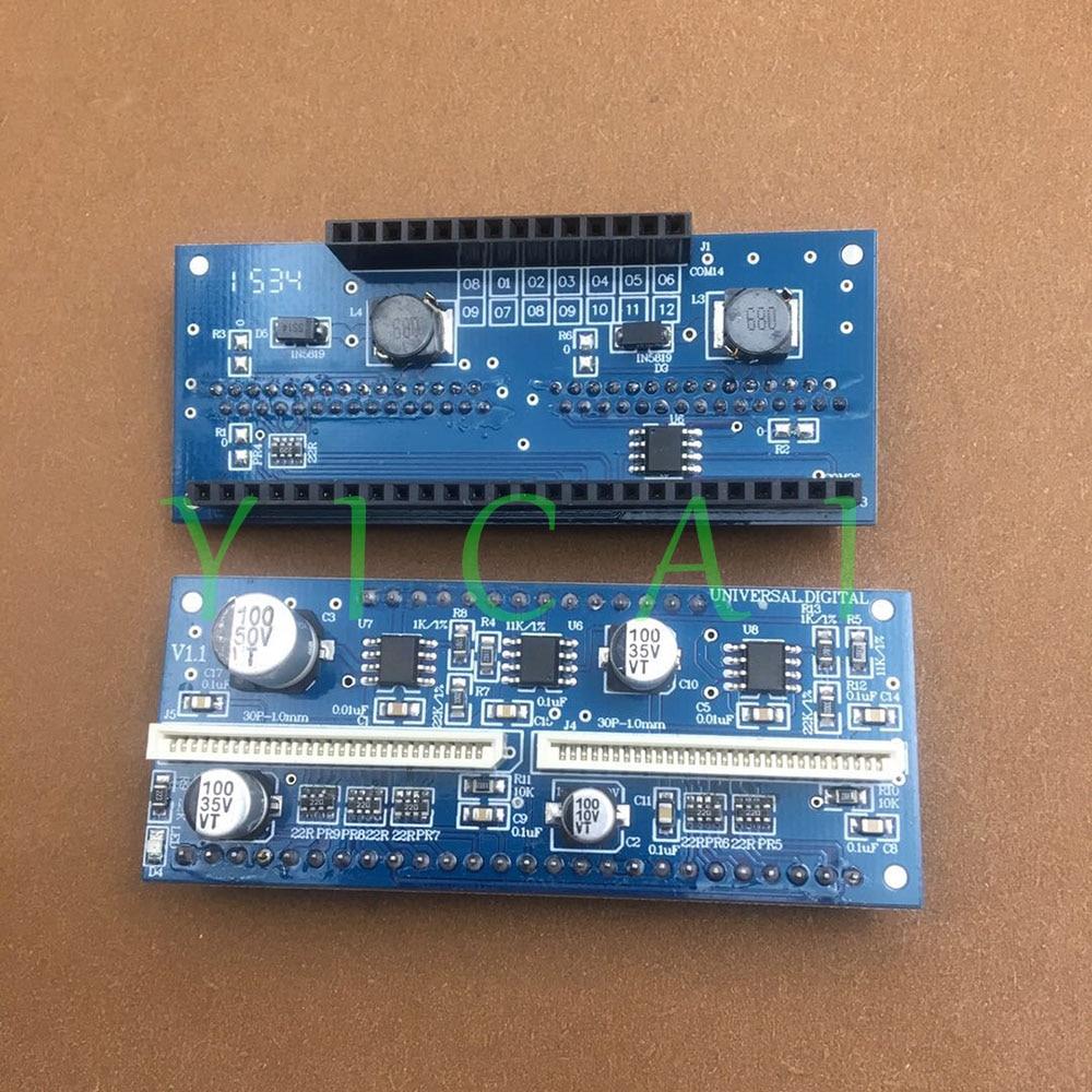 Para seiko spt 510 1020 cabezal conector USB convertir tarjeta Infiniti FY-3206 FY-3208 Phaeton Iconteck impresora Crystaljet