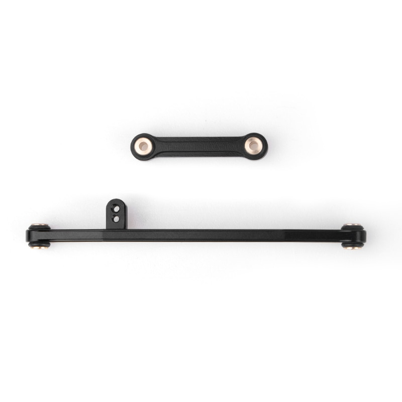 Metal Aluminum Alloy Steering Link Linkage Tie Rod kit Upgrade Parts Accessories for RC Crawler Car Axial SCX24 90081 enlarge