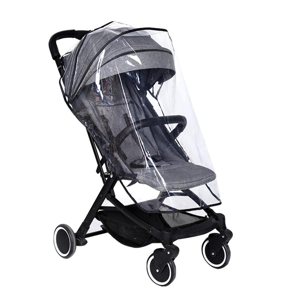 Дождевик для детской коляски EVA экологически чистый материал универсальный прозрачный дождевик для детской коляски дождевик