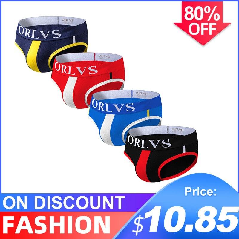 4 pçs/lote venda quente de algodão sexy undenwear men jockstrap briefs masculino underwearbikini gay masculino jock cinta presente or01