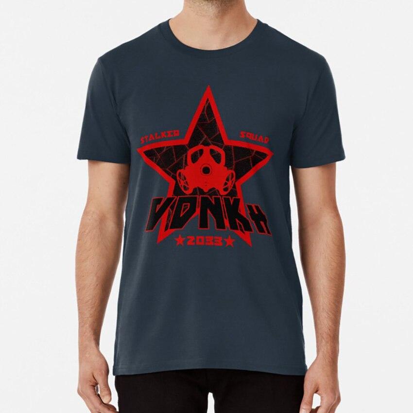Camiseta del equipo Stalker de Vdnkh [VERSIÓN ROJA], Metro 2033, Metro 2033, Vdnkh, Stalker Squad, Artyom Haunter