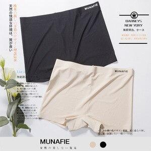 3pcs Women's Luxury Panties Japan Munafia Mid-Waist Underpants Women Security Ice Silk Hollow Out Lingerie Women Panties Cotton
