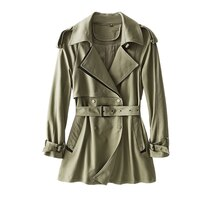 SHUCHAN New 2021 Womens Fashion Luxury Trench Coat  Double Breasted  STREETWEAR  Autumn Clothes Wome