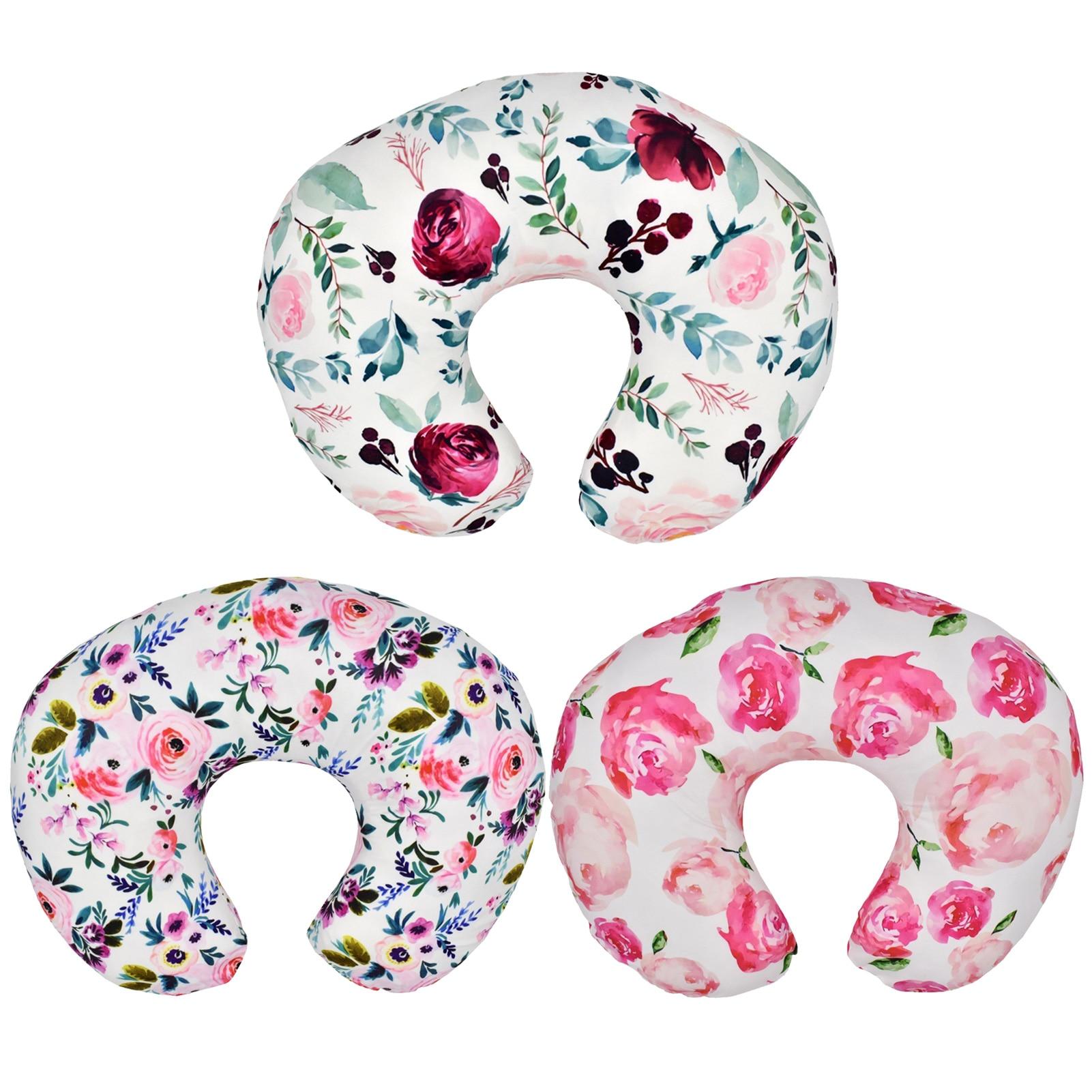 Baby U Type Nursing Pillow Pillowcase Multifunctional Detachable Printing Pillowcase Lactation Pillowcase Removable