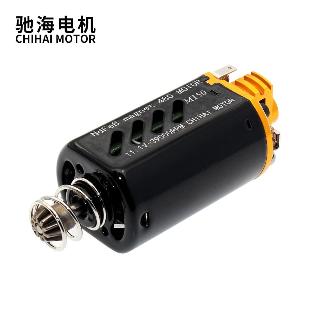 chihai motor CHF-480WA-8513G CNC M150 high speed AEG Motor short Axis for M4A1-J9 ACR-J10 blaster gel toy  17TPA