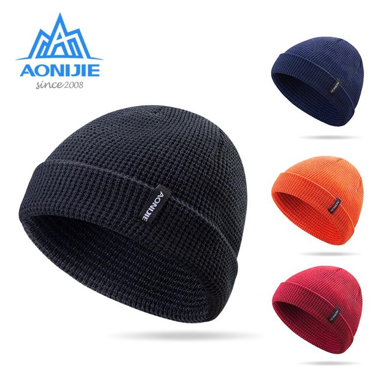 AONIJIE M27 Unisex Winter Warm Sports Slouchy Cuffed Knit Beanie Hat Skull Cap For Running Jogging Marathon Travelling Cycling