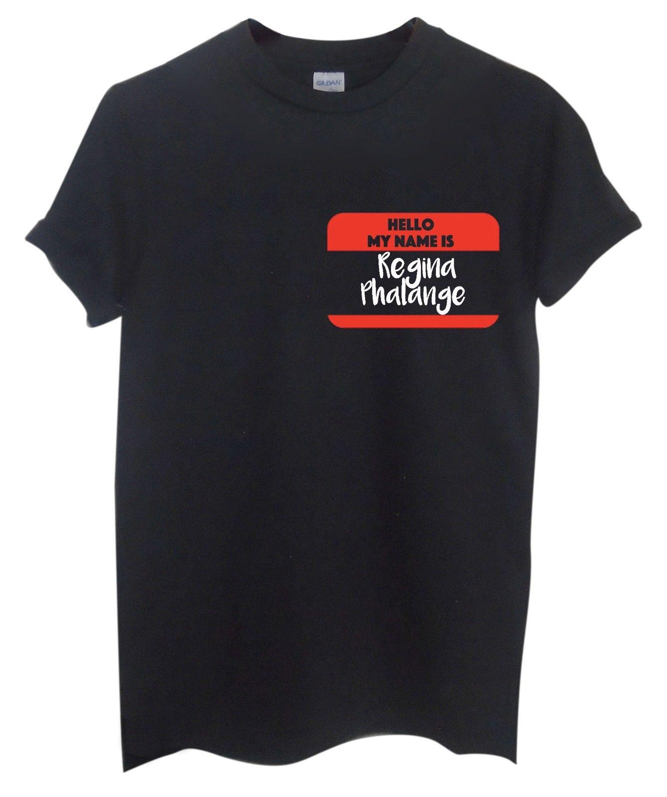 Regina Phalange T Unisex camiseta   Top   Camiseta   Amigos   Phoebe   Regalo Casual orgullo t camisa de los hombres Unisex nuevo