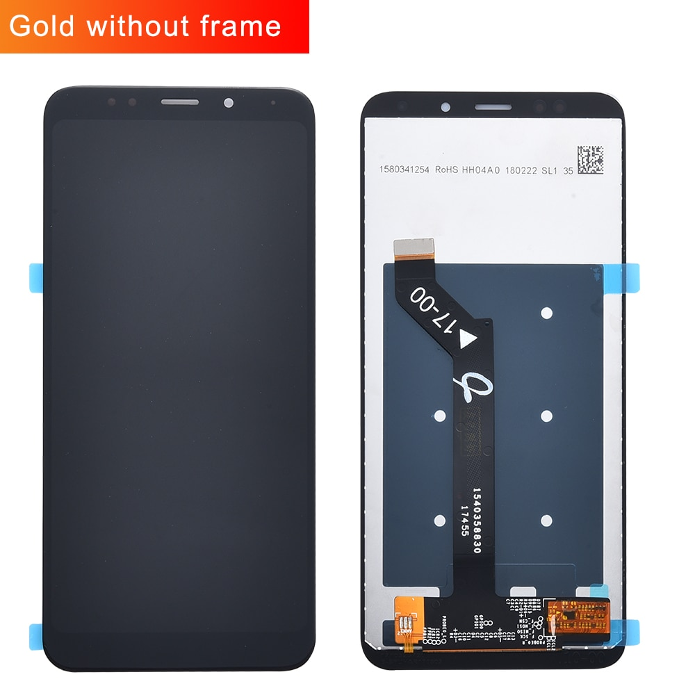 Original For Xiaomi Redmi 5 Plus LCD Display + Frame 10 Touch Screen Redmi5 Plus LCD Digitizer Replacement Repair Spare Parts enlarge