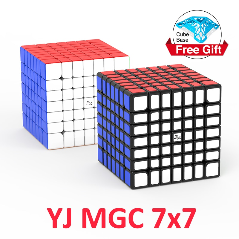 aosu gts m 4 4 4 magnetic magic cubes puzzle speed cube educational toys gifts for kids children YJ MGC 7x7 Magic Cube Magnetic 7x7x7 cube puzzle Professional magnets Cubo Magico speed cubes Educational toys for kids gifts