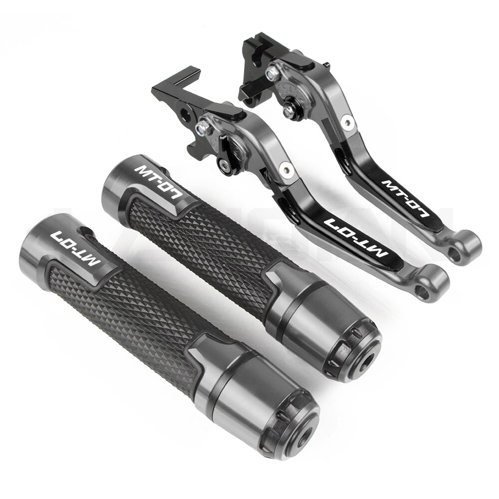 motorcycle brake clutch lever handlebar grips for yamaha mt 07 mt07 fz 07 2014 2015 2016 2017 2018 2019 2020 2021 mt 07 parts Motorcycle Brake Clutch Lever Handlebar Grips For Yamaha MT 07 MT07 FZ 07 2014 2015 2016 2017 2018 2019 2020 2021 MT-07 Parts