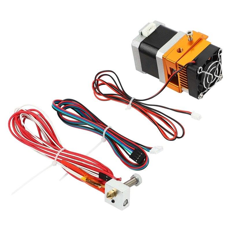 آلة بثق معدنية بالكامل ، ملحقات طابعة ثلاثية الأبعاد Mk8 ، رأس بثق I3 مناسب للطابعات ثلاثية الأبعاد