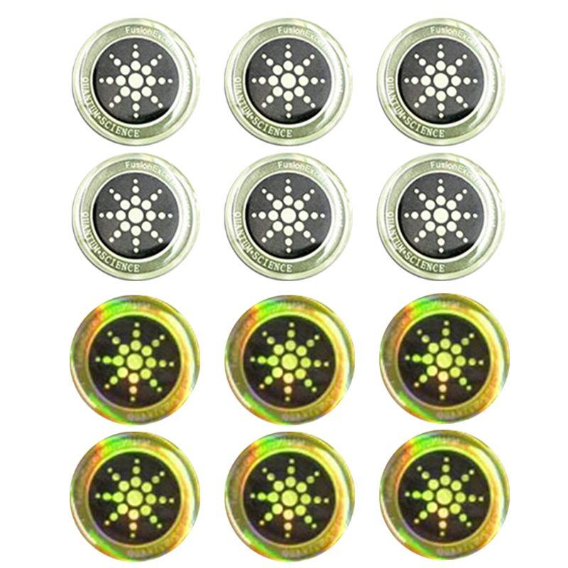 6 unids/caja EMF Protector Quantum Shield Sticker pegatina para teléfono móvil protección Anti radiación