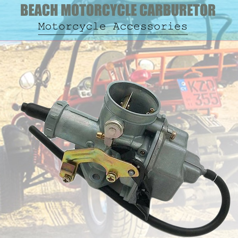 Carburador de motocicleta bombas de acelerador Racing 200cc 250cc con duales Cable de acelerador V6
