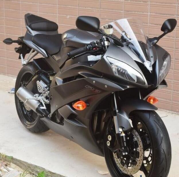 جديد ABS قالب حقن دراجة نارية كامل Fairings عدة صالح لياماها YZF-R6 2006 2007 R6 06 07 مخصص مجاني أسود ماتي