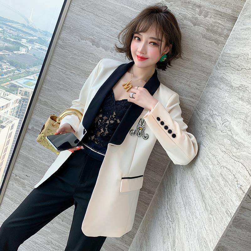 Blazers Women Fashion Spring Autumn Women Blazers and Jackets Work Office Lady Suit Business Female