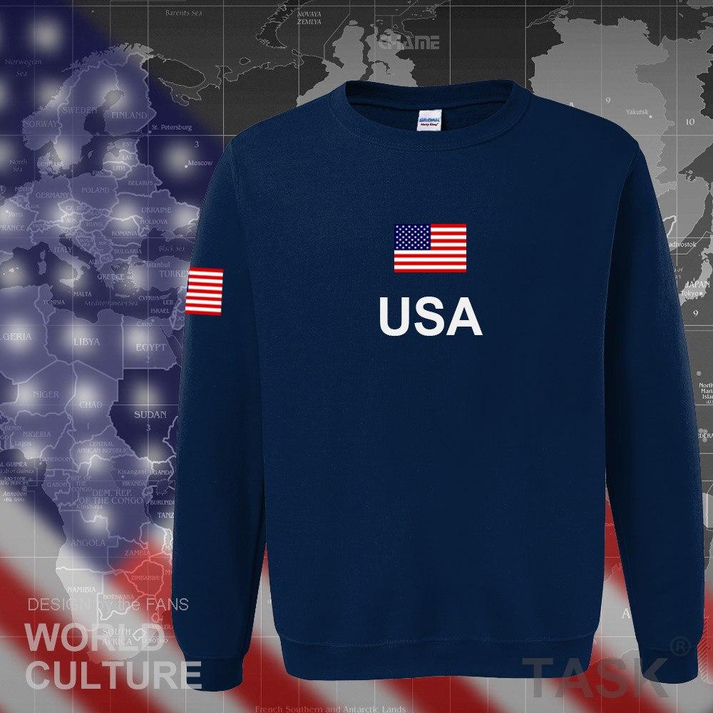 WAMNI Estados Unidos de América sudaderas con capucha hombres/mujeres/niños USA Sudadera con capucha impresa primavera otoño Unisex Harajuku Streetwear