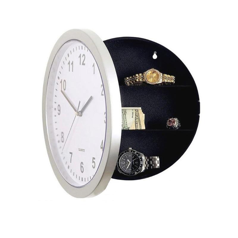 خزنة إبداعية سرية جديدة ، صندوق تخزين ميكانيكي ، ساعة حائط ، حاوية نقود ، مجوهرات بلاستيكية