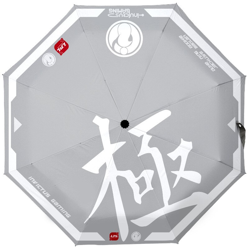 Paraguas de anime para mujer, sombrilla Plegable, Paraguas de mujer