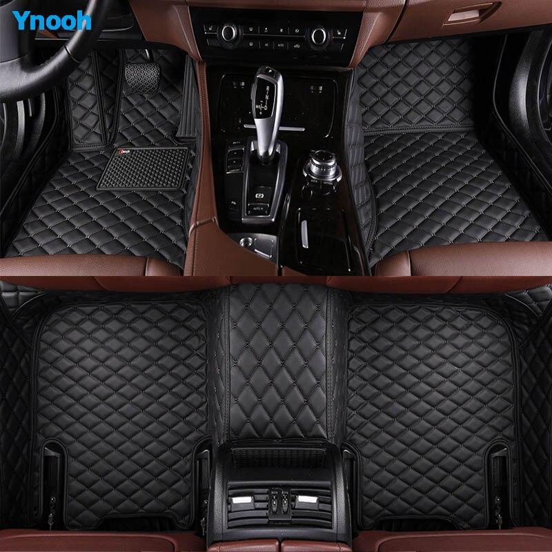 Ynooh auto boden matte für volkswagen touareg polo limousine passat b3 caddy tiguan tiguan golf käfer auto zubehör